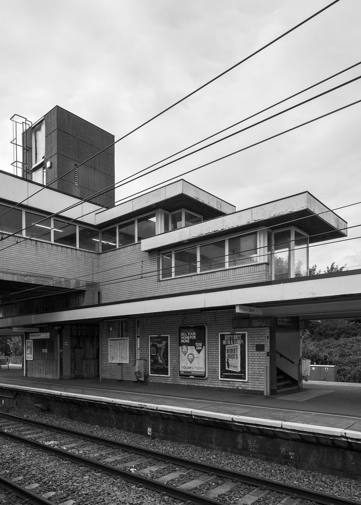 Harlow Town Station, Regional Architect Eastern Region, H H Powell; Project Architect Paul Hamilton, with John Bicknell and Ian Fraser, 1959-60 Photo: Simon Phipps