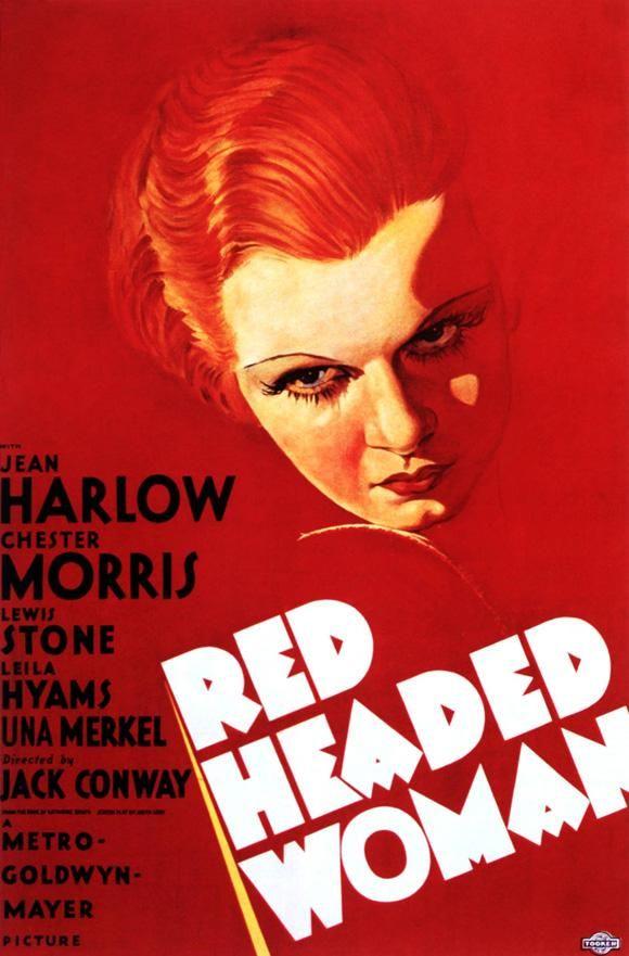 La Pelirroja (Red Headed Woman), de Jack Conway, 1932