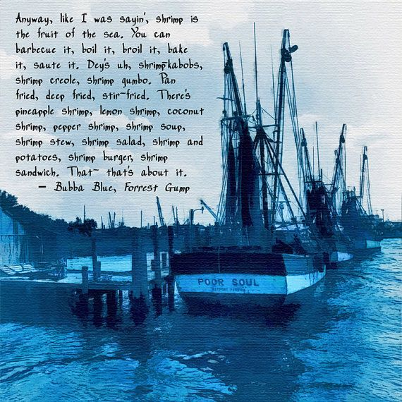 Forrest Gump Shrimp Quotes: Boat Ihsan: Wooden Sailboat With Quote