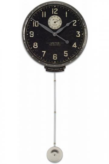 home decorators collection memphis wall clock