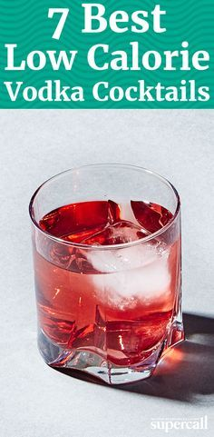 Here are seven of the healthiest vodka cocktails you can order or make at home. Your tastebuds—and waistline—will thank you.