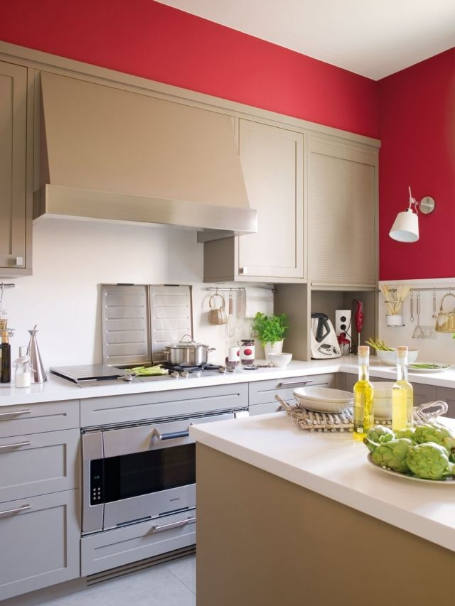 Kuche Farben Ideen 30 Ideen Fur Weisse Kuchenmobel Farben Ideen