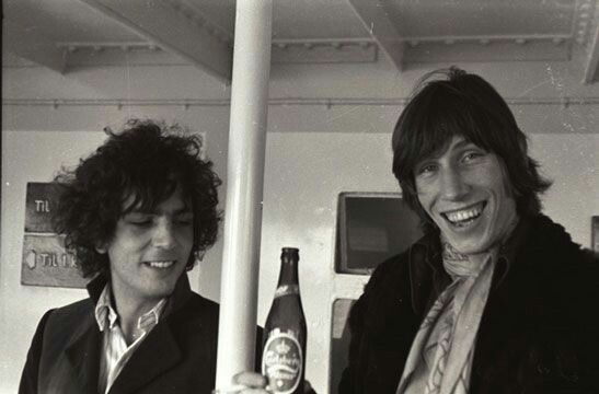 Syd Barrett and Roger Waters, Pink Floyd