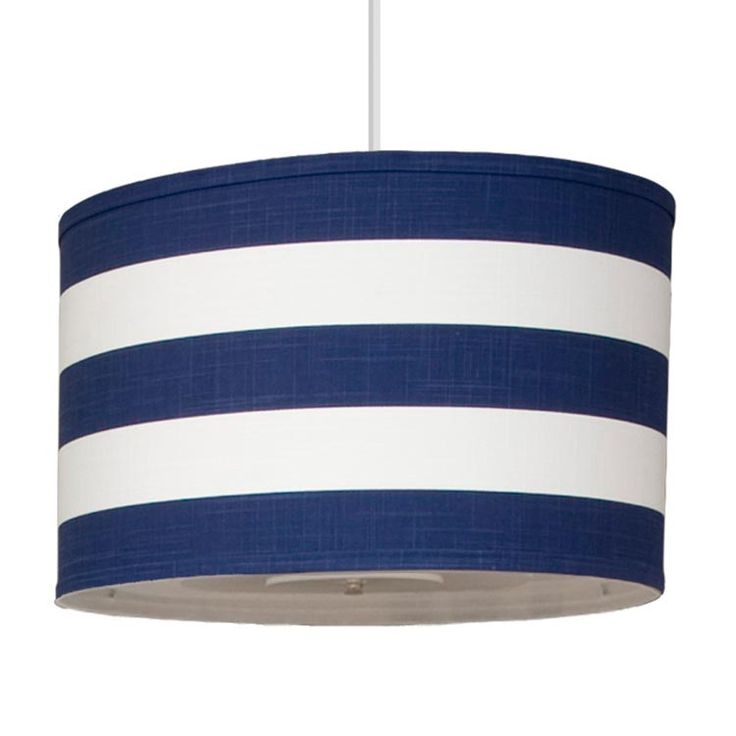 Oilo Striped Cobalt Large Cylinder Light This Is The