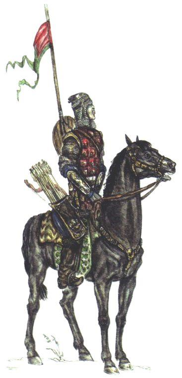 Siberian Khanate heavy cavalryman, 16th century