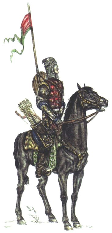 Siberian Khanate heavy cavalryman, 16th century