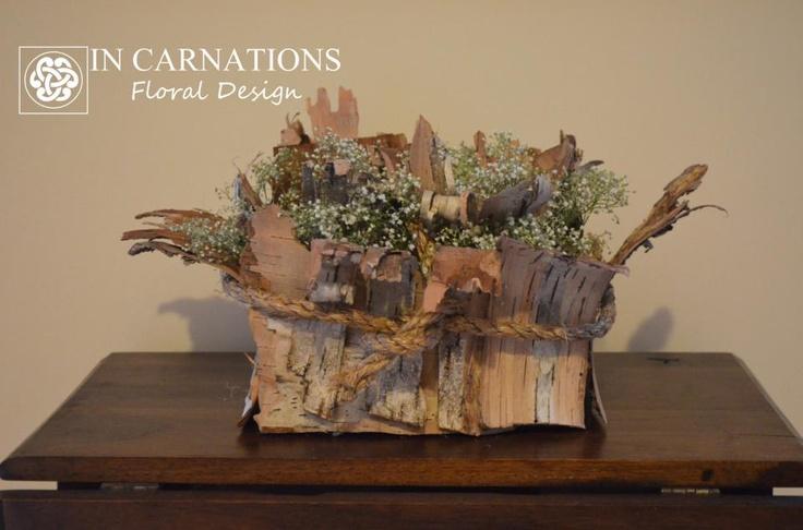 #birch, #gyp, #centerpiece #incarnationsdesign  www.incarnationsdesign.com