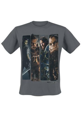 "Classica T-Shirt uomo grigia ""Character Slice"" di #Warcraft."