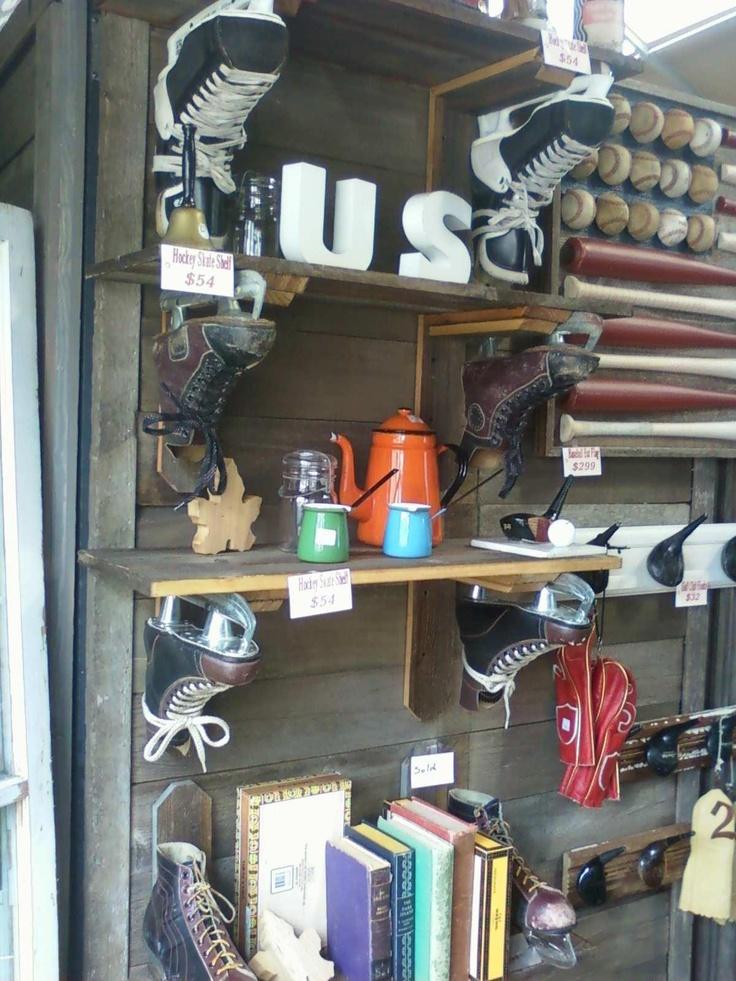 hockey skate shelves