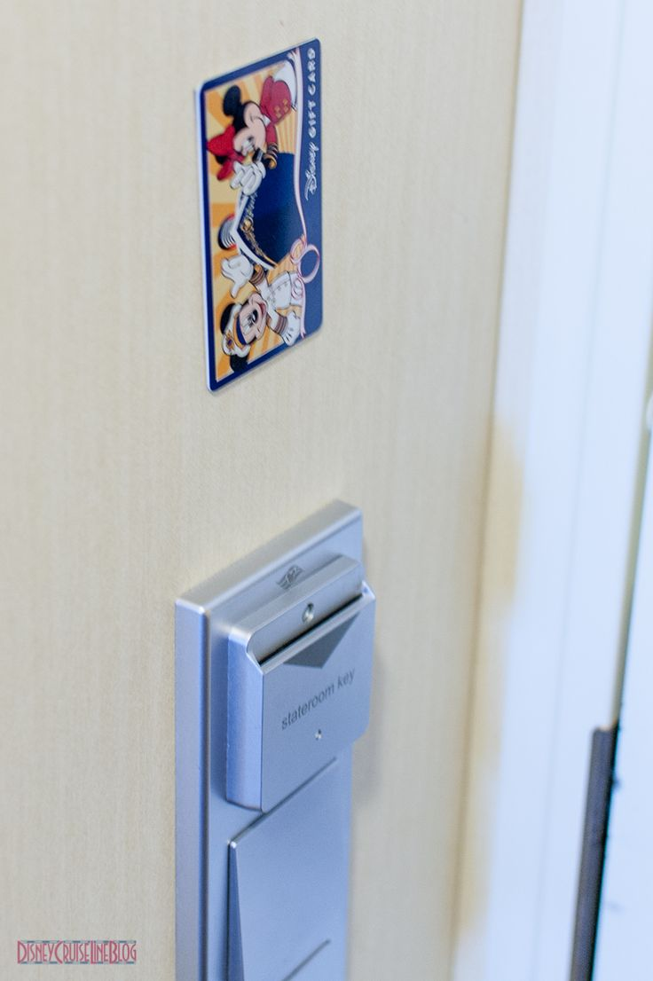 Disney Cruise Stateroom Key to the World (KTTW) Activated Light Switch Tip
