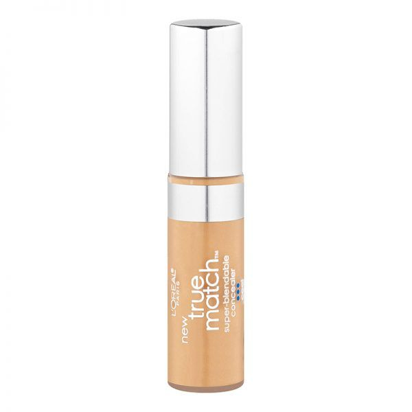 """L'Oréal True Match Concealer comes in warm, cool and neutral shades and is incredibly blendable. It's not so dry that it ages you, but not so wet that it creases."""