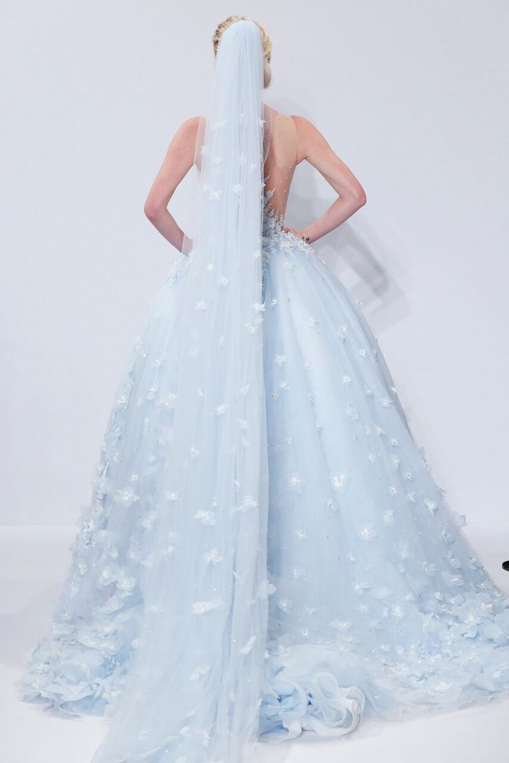 Randy Fenoli Debuts His Bridal Collection Light Blue