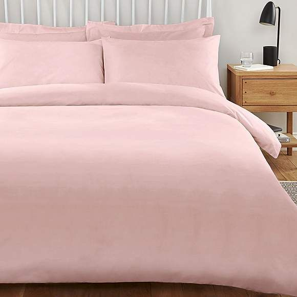 Plain Dyed Brushed Cotton Duvet