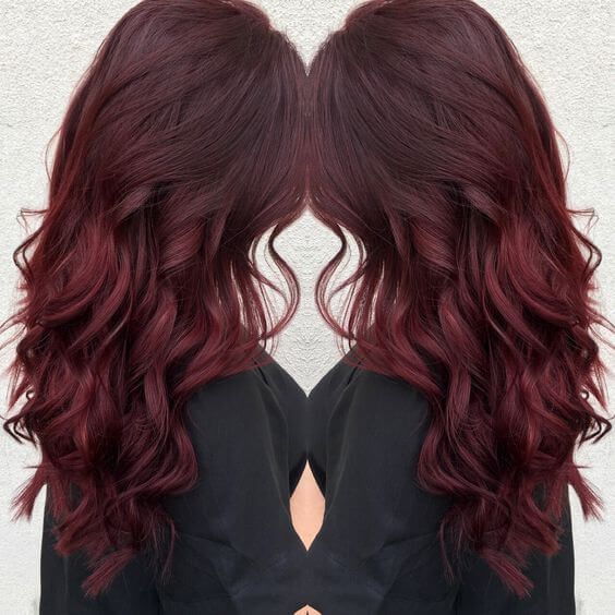 Red brown hair colors
