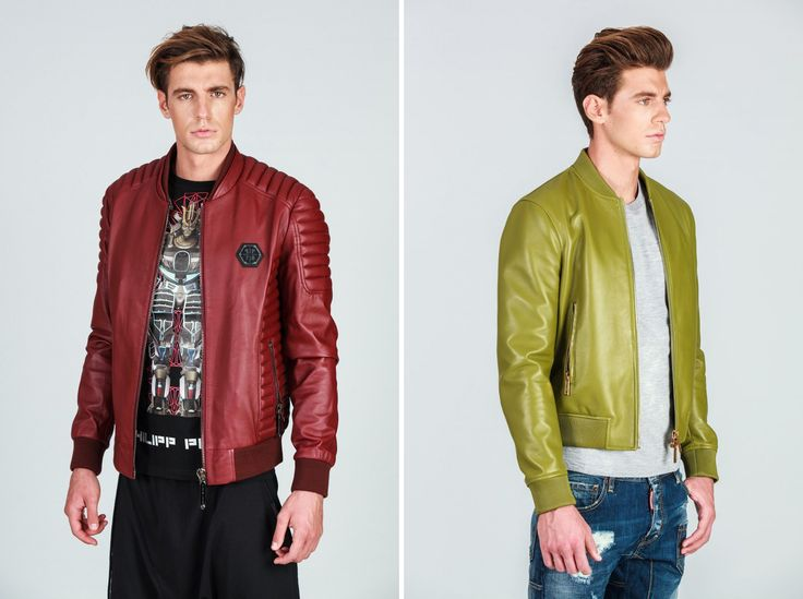 Right or left? Invest in a leather jacket now!  Right: #Dsquared left: #PhilippPlein both on #sale till late February. #hionidismankind #mensfashion #menswear #menstyle #shoponline #onlinefashion #mensoutfit  #globalfashion #luxuryfashion #fashiononline #onlineshop #fashionblogger #fashionformen