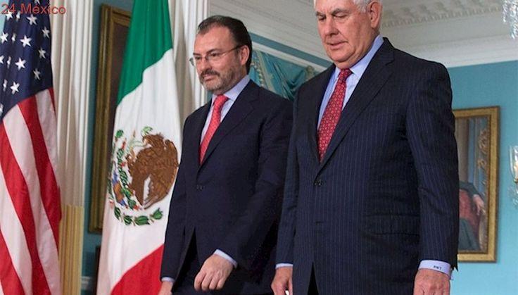 Videgaray reitera solidaridad de México con afectados por 'Harvey'
