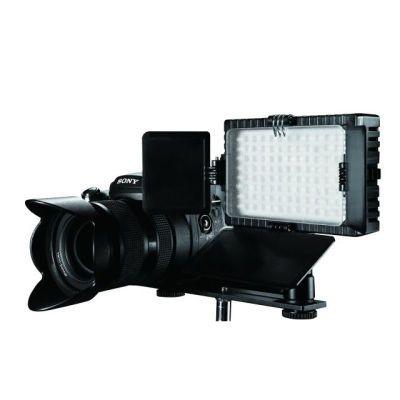 Falcon Eyes LED Lamp Set Dimbaar DV-96V-K2 op Accu