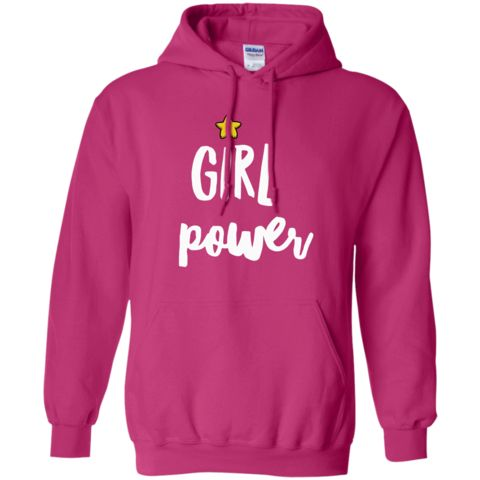 Get your girl power on and check this awesome hoodie out.  www.barkingmadwarehouse.com