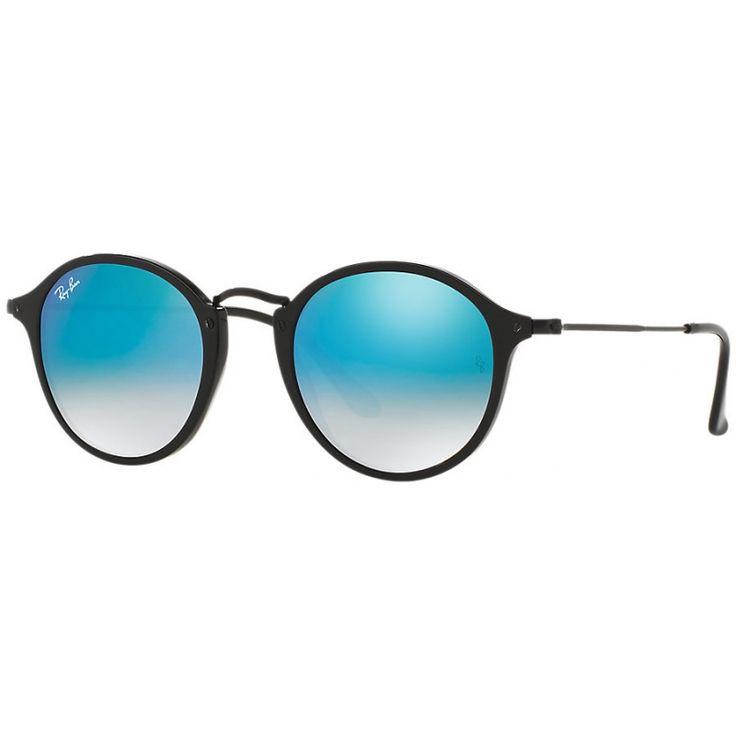 Acquista i fantastici occhiali RAY-BAN RB2447 9014O 49 ROUND FLECK FLASH LENSES…