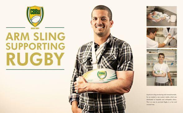 Confederação Brasileira de Rugby: Arm Sling Supporting Rugby