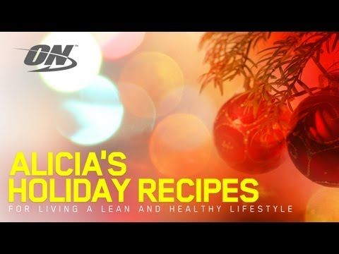 Alicia Harris High-Protein Holiday Recipes - YouTube Shakes & pumpkin protein powder pancakes**