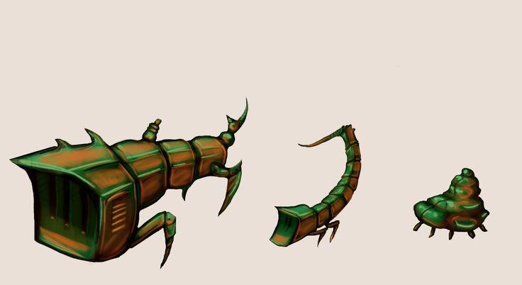 Scorpion critters - AC