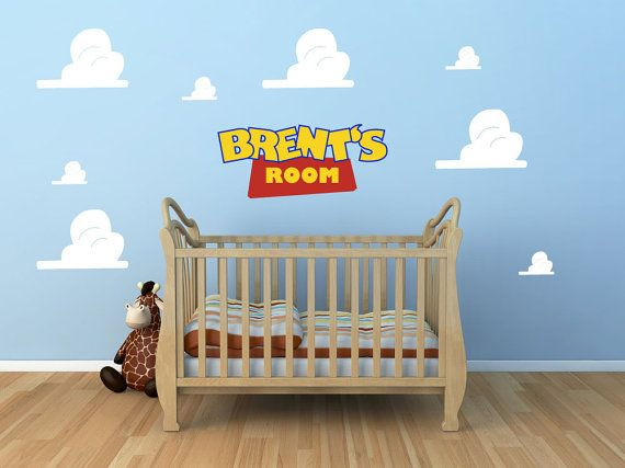 Love this Toy Story Nursery wall decal set!