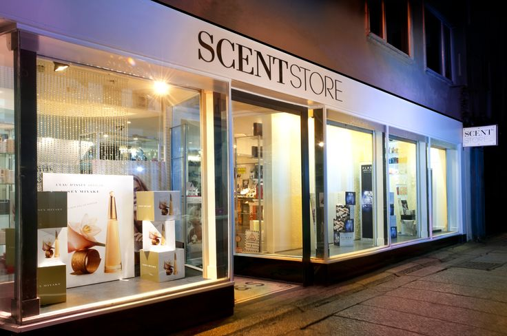 Our Truro store by night