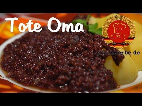Tote Oma (Grützwurst) (von: erichserbe.de) - Essen in der DDR: Koch- und Backrezepte für ostdeutsche Gerichte | Erichs kulinarisches Erbe
