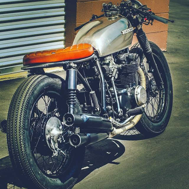 Honda CB550F 1975 Cafe Racer by Thirteen And Company #motorcycles #caferacer #motos | caferacerpasion.com