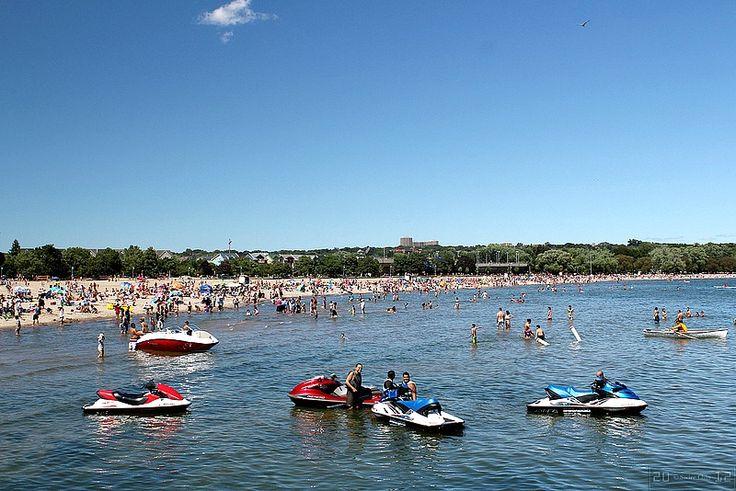 Kew Beach, Toronto, Canada - Things to do: http://www.ytravelblog.com/things-to-do-in-toronto/