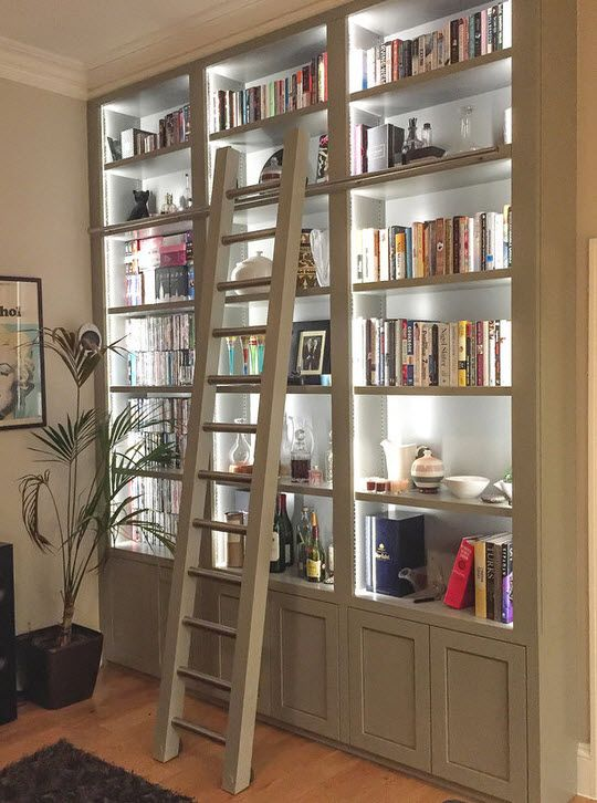 1000 ideas about custom bookshelves on pinterest bookshelves custom entertainment center and crown molding installation bookcase lighting ideas