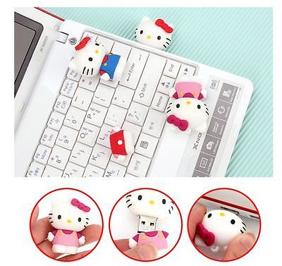 Hello Kitty USB Flash Drives 16GB Red Blue Pink Made in Korea