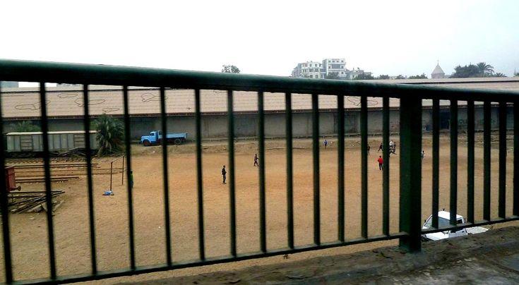 Egypt football pitch 1