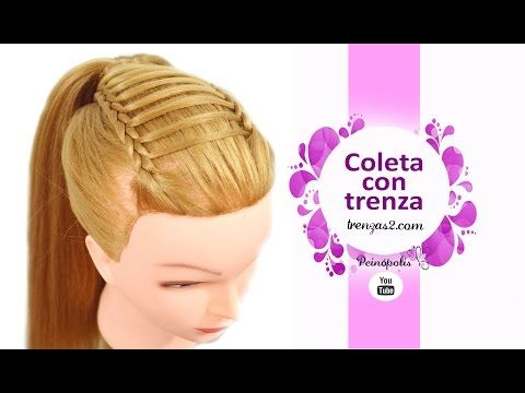 1400 best images about peinados on pinterest updo lace - Peinados faciles y bonitos ...