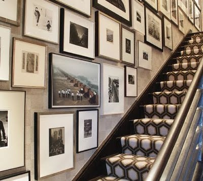 Are you getting it that I really REALLY dig gallery walls??