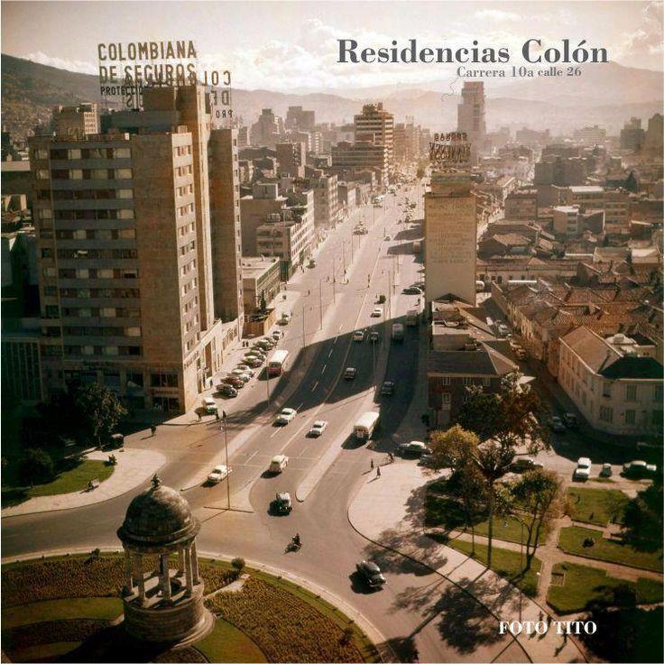 A color: Residencias colon, Cra. 10 con Calle 26  Foto: Tito J Celis