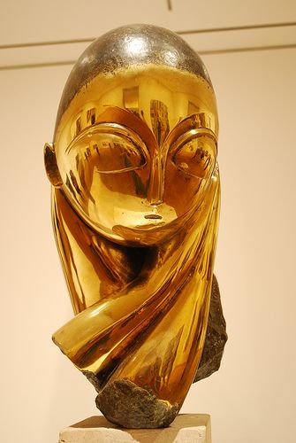 """MIIe Pogany""  by Constantin Brancusi - first time I saw this beautiful sculpture was at the MoMa"