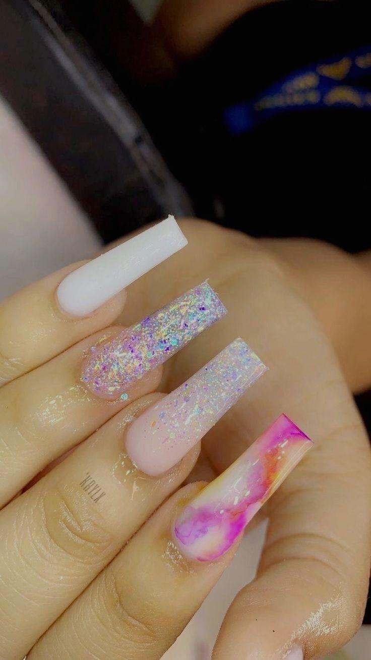 Pin by tobiah7vj5zj on Nails in 2020 | Geometric nail