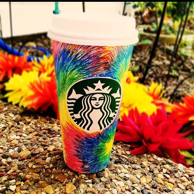 Primary color swirl by Instagram user @PinkLiveAction. #WhiteCupContest