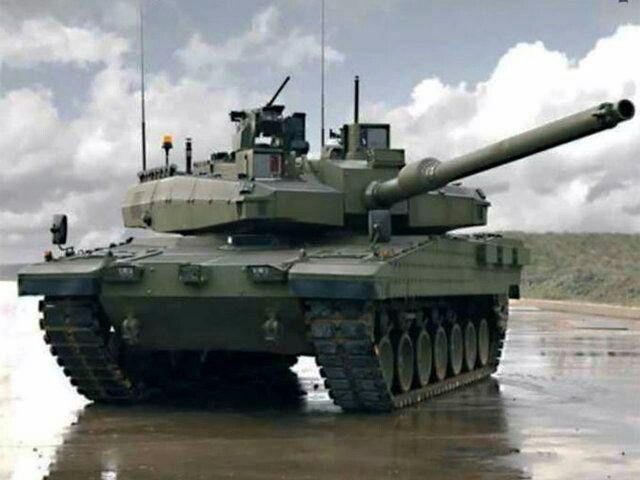 Turkey Main Batle Tank (Altay)