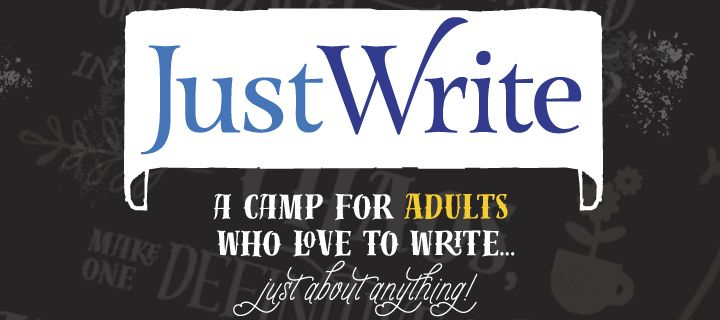 Check out our brand new summer camp for writers 18+! There will be a keynote, mixer, two days of instruction, and a wrap-up event.