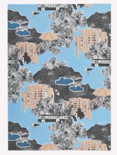 Mairo Kung Bore print. Designed by Anna Backlund.