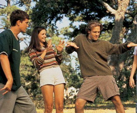 Dawson's Creek - Katie Holmes, Joshua Jackson And James Van Der Beek In Dawson's Creek (1998)