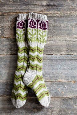 finnish socks. Go to the page for more colorful patterns