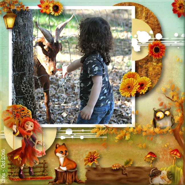 """Kit """"Romantic fall"""" by Kastagnette - Template by Christaly"""