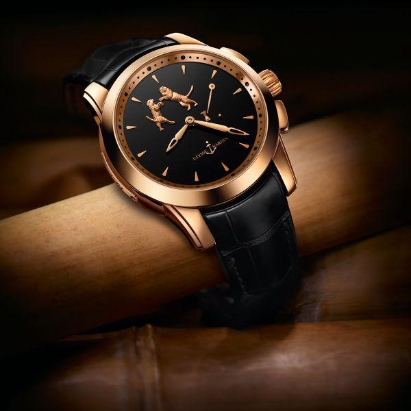 Ulysse Nardin Hourstriker Tiger 6106-130/E2 rose gold http://goo.gl/w43VZO