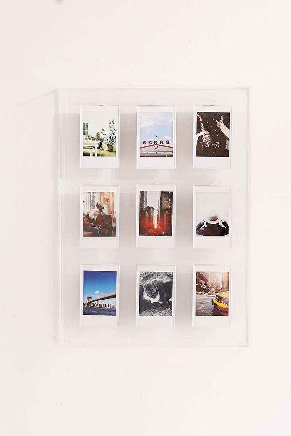 Slide View: 1: Instax Acrylic Multi Picture Frame