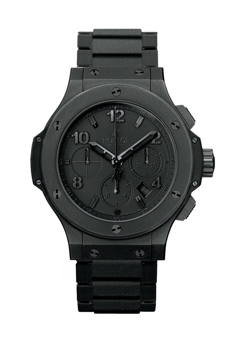 Big Bang All Black 44mm Chronograph watch from Hublot