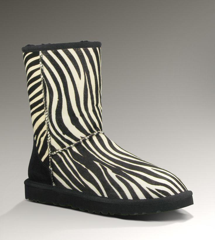 Classic Short Exotic Uggs in zebra